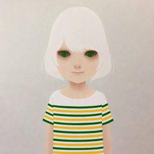 山田航平『最初の人間(緑と黄)』