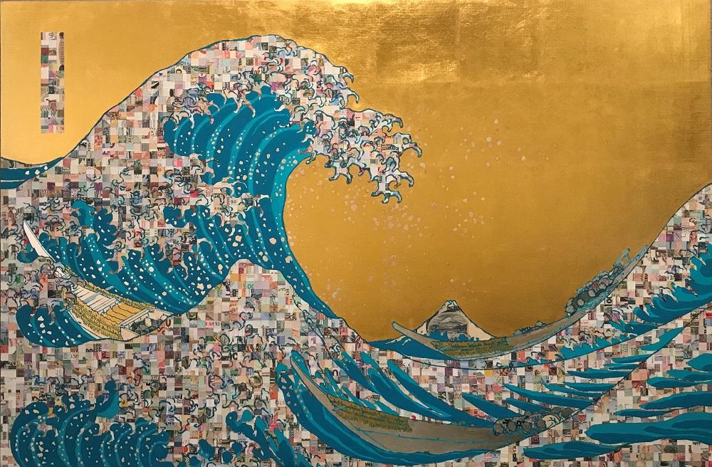 TARTAROS JAPAN『TWorld Automatic Wave Aqua blue ¥GZ212818H 』