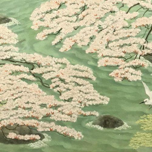 猪熊佳子『清流ー嵐山-』