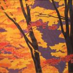 東山魁夷『照紅葉』