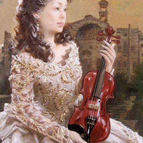日高康志『奏 バイオリン』