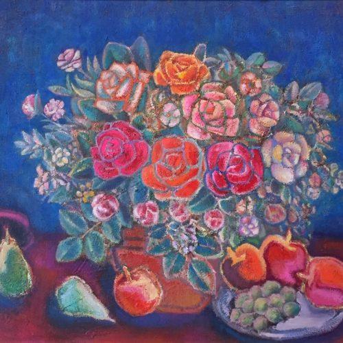 盛本学史『花と果実』
