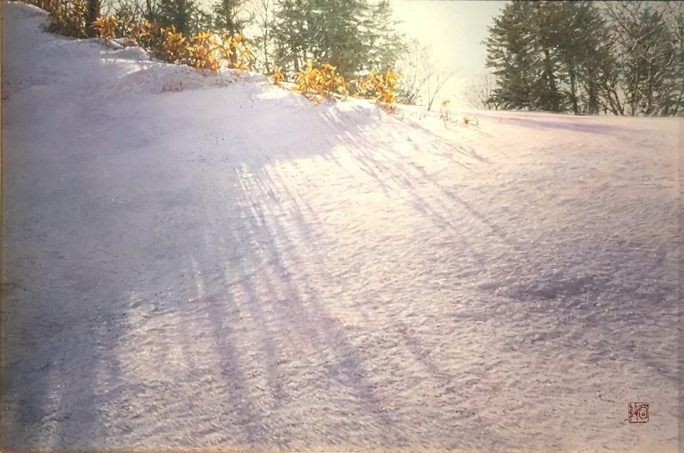 水口裕務『雪笹』