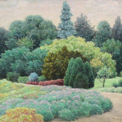 成田 禎介『庭園』