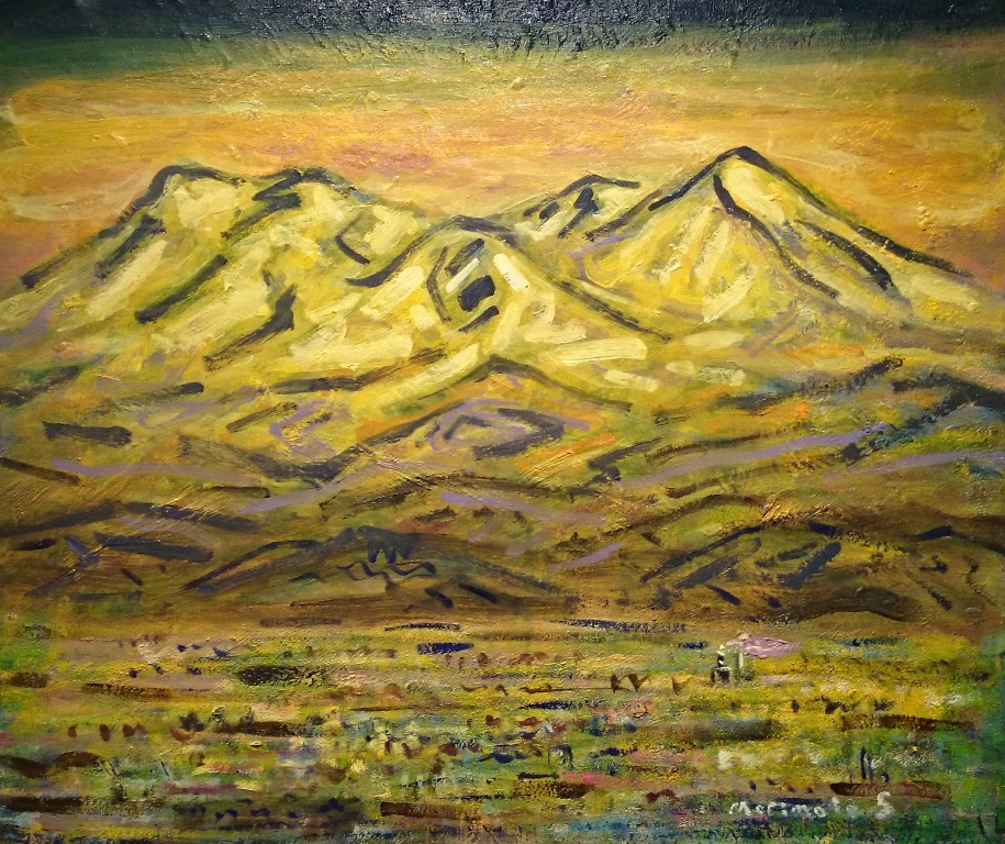 盛本学史『金色の大雪山』
