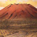 中野嘉之『赤富士』