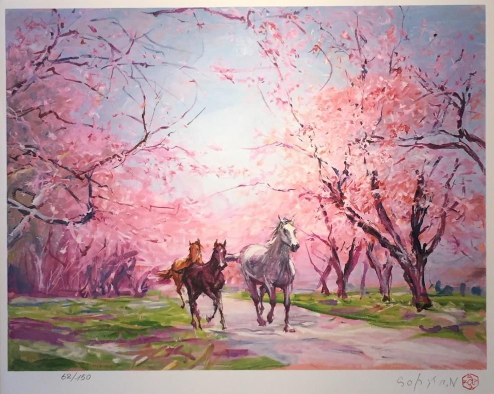 中畑艸人『春』