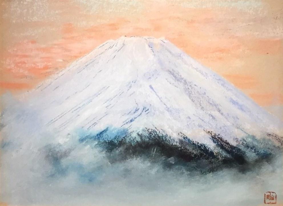 山元桜月『富士』