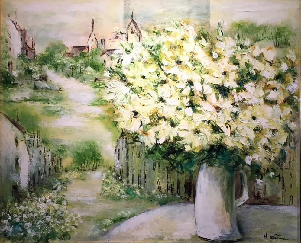 永井弘子『花の街・白い花の咲くころ』