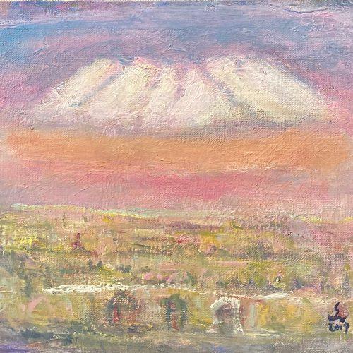 盛本 学史『初冬の大雪山』