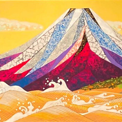 村越由子 『富嶽波擣図』