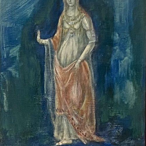 盛本 学史『聖母』