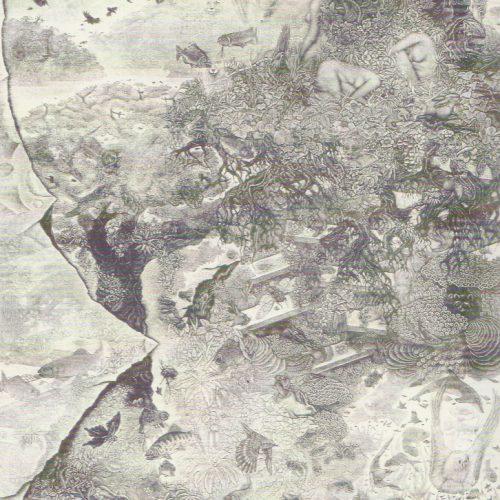 小林敬生『白い朝又は早暁-03A・樹』