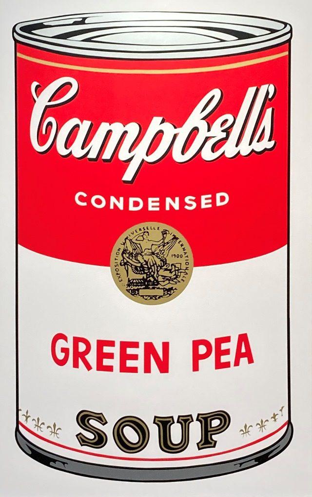 アンディ・ウォーホル『キャンベルスープ・GREEN PEA』