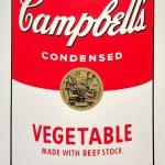 アンディ・ウォーホル『キャンベルスープ・vegetable』
