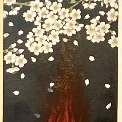 中島千波『春の夜』