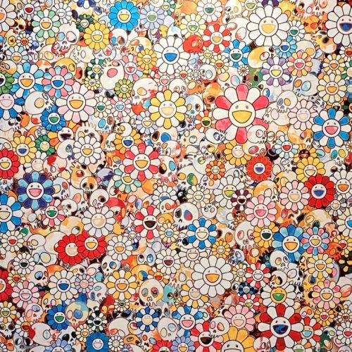 村上隆『Skulls&Flowers Multicollar』