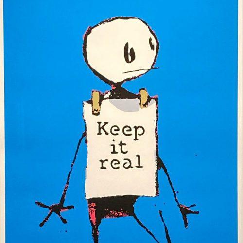 バンクシー『KeeP it real』