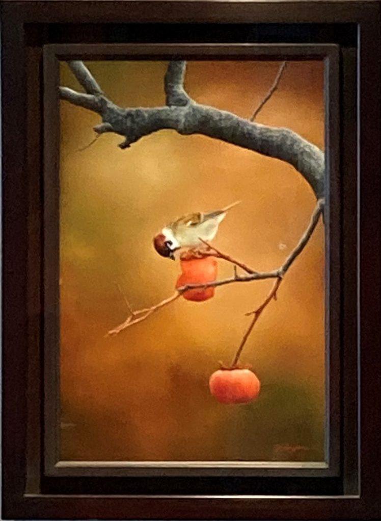 谷上裕二『秋景ースズメー』