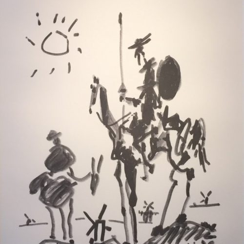 ピカソ『ドン・キホーテ』