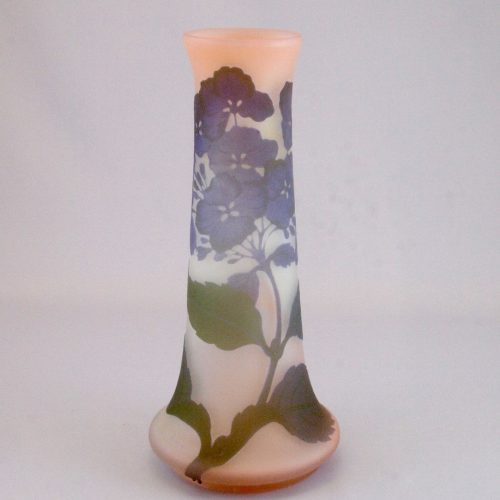 ガレ『紫陽花文花瓶』