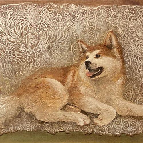 阿部穣『秋田犬』